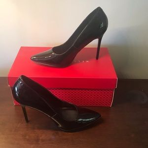 Madden Girl Patent Leather Heels Size 8